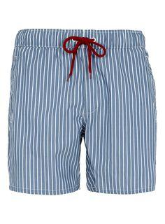 Striped Swim Shorts - Men's Swimwear - Clothing - TOPMAN