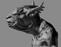 High resolution ZBrush model