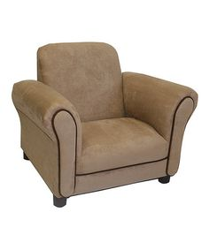 Take a look at this Tan Deluxe Chair by Newco on #zulily today!
