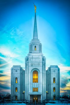 Brigham City Utah temple. I visited the temple with my wife just a few months before it was dedicated.