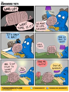 [The Awkward Yeti] I'm only re pinning this for the ADORABLE BLADDER JUST LOOK AT HIM