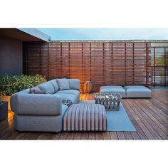 B&B Italia Butterfly Gartenmöbel Loungegruppe