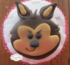 cup cake lobo   Postado por Edilaine Matiuci Banzoli às 10:46