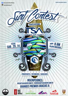 Logo de campeonato interno TSA ACADEMY ARTE Y DIRECCION: JORGE KHAN.