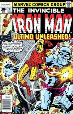 Iron Man #95 marvel comic book covers , Ultimo