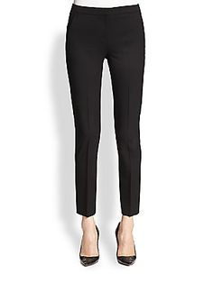 The Kooples Timeless Cropped Stretch Wool Pants $240