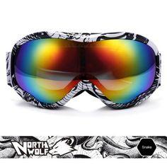 Llévalo por solo $112,000.NORTE WOLF NW921 Gafas de esquí.