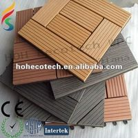 non-slip wood composite decking tiles