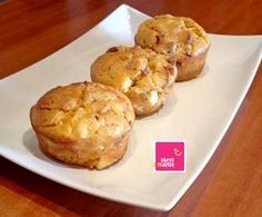 almira_muffins_thessmama Finger Foods, Muffins, Food And Drink, Breakfast, Breakfast Cafe, Finger Food, Muffin, Snacks, Cupcake