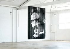 Tesla 'Electric Portrait' lighting installation by ambience & Duro Cubrilo »…