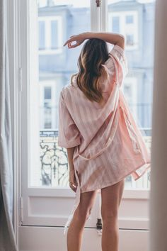 Pink Bodas Robe Nightwear. Definitely my style for everyday.