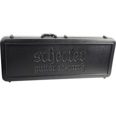 Schecter Guitar Research Guitar Case for S-1, Scorpion, Devil Tribal,
