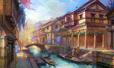 City of Crowns Concept - Book 4 - Morning by SnowSkadi.deviantart.com on @deviantART