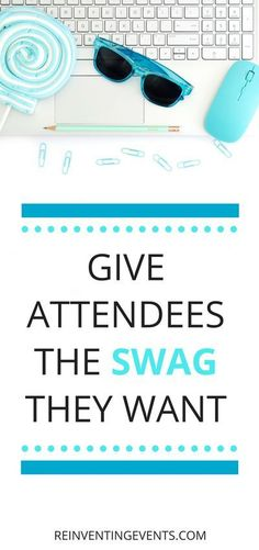 Swag ideas for conferences and corporate events Event Planning Tips, Event Planning Business, Business Events, Corporate Events, Event Ideas, Party Planning, Best Swag, Conference Planning, Swag Ideas