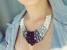 Dettus / pearl necklace