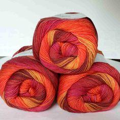 Jawoll Magic 6-fach Sommer Lang Yarns - Heikes Handgewebtes: Traumhafte Wolle für Socken und noch viel mehr - dreamlike wool for socks and much more