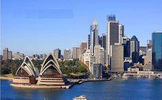 The Opera House Sydney Australia - skyscraper sydney opera house sydney new south wales australia oceania geography Places To Travel, Places To See, Travel Destinations, Sydney Skyline, Sydney City, Opera Browser, Australia Immigration, Tourism Marketing, Scary Places
