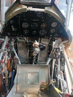 Hurricane cockpit