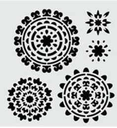 FolkArt ® Handmade Charlotte™ Stencils - Suzani Spendor available at JoAnn Stores