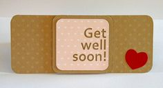 """bandaid card, via Flickr.-cute idea to send home with my students homework when there sick. (Hmm I'm worried the person who pinned this previously is a teacher but used, """"there"""" when """"they're"""" was correct. I'm JUST saying!)"""