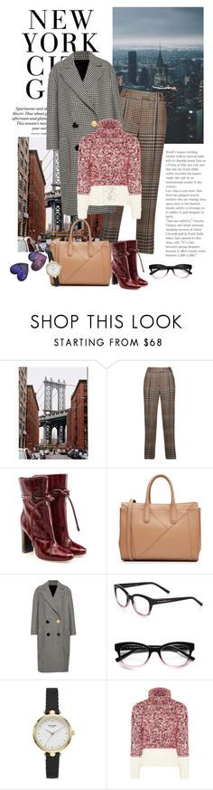 """Days In The New York"" by nicolesynth ❤ liked on Polyvore featuring 3.1 Phillip Lim, Malone Souliers, MaxMara, Petar Petrov and Kate Spade"