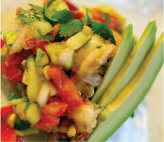 Gluten Free Avocado & Shrimp Spring Salad