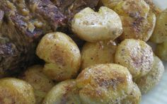 Buttery Roasted Crushed Potatoes Recipe - Food.com
