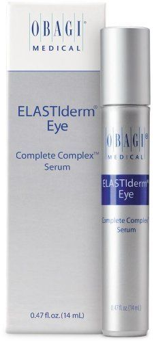 Obagi Elastiderm Eye Complete Complex Serum by Obagi Medical. $36.00. Obagi ELASTIderm Eye Complete Complex Serum .47 oz  The ELASTIderm Eye formulation you love, now with the added benefits of caffeine!Feeling a little tired? Give yourself a boost of caffeine! We're not talking about your morning coffee, but actually a new eye serum by Obagi that will wake up your eyes! Introducing the new ELASTIderm Eye Complete Complex Serum - the next-generation ELASTIderm Eye fo...