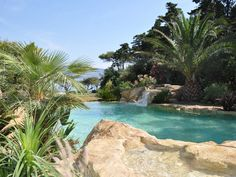 Back To Nature With Natural Swimming Pools: Waterworld Natural Swimming Pool Designs LaurieFlower 002