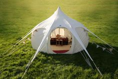 This is the lotus belle, the best tent design I've seen in a long time~