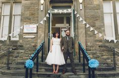 Tweed, The Town Hall And Lots Of Diy ~ A Handmade Vintage Inspired Wedding In…
