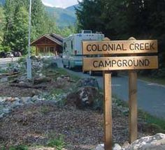 Colonial Creek campground, near Diablo Lake, North Cascades