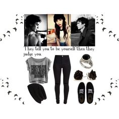 They Tell You To Be Yourself - The Vampire Diaries -Damon Salvatore by aliiceroseee on Polyvore