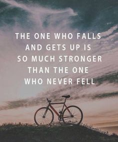 The One Who Falls and Gets Up.