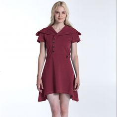 Sweet Pea dress made from recycled materials. $56 on Ethical Ocean. #asymmetrical #jerseydress
