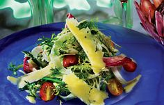 Chaminade Resort is known for their delectable food and amazing service. This is an asparagus fennel salad made by the incredible chefs at Chaminade.