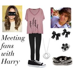 """""""Meeting Fans With Harreh #Imagine"""" by calm-it-curly on Polyvore"""
