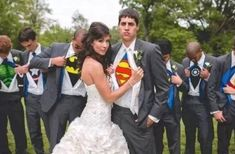 My Husband To Be Is a Superman I should do this for my wedding! Hahahhahaha If I ever have one! i laughed then I cried