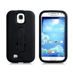 Kick Stand Black Samsung Galaxy S4 Case