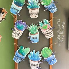 Succulent and Shiplap Birthday Display An easy simple and beautiful way to display student birthdays in the classroom with a succulent and shiplap theme The post Succulent and Shiplap Birthday Display appeared first on Toddlers Ideas.