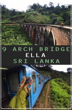 9 Arch Bridge in situated in the green hill town of Ella in Sri Lanka. How to get to 9 Arch Bridge, 9 Arch Bridge price and best time to visit 9 Arch Bridge Travel And Tourism, India Travel, Us Travel, Travel Plan, Bucket List Destinations, Travel Destinations, All Over The World, Around The Worlds, Arch Bridge