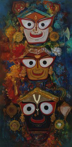 Jagannath Baladeva and Subhadra