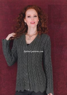 Women's cardigans knitting patterns
