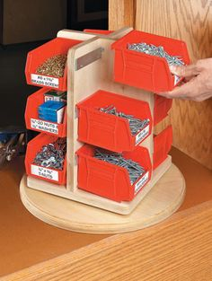 Woodworking is a job, for which one requires to work with precision and skill. Mistakes during woodworking may spoil the whole piece. In woodworking, there are some things, which should be done repeatedly. woodworking jigs are tools, Garage Tool Storage, Workshop Storage, Garage Tools, Garage Organization, Organizing, Woodworking Organization, Workshop Ideas, Storage Sheds, Wood Storage