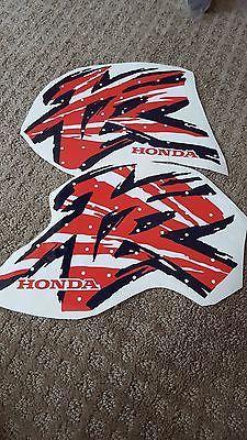 XR 600 XR 400 XR200 XR250 de gráficos XR400 Tanque De Combustible Calcomanía logotipos de bici de la suciedad
