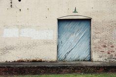 Big Blue Door   Erin Johnson @ Society6