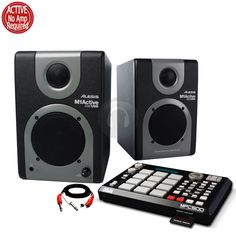Alesis M1Active 320 USB Speakers Monitors AKAI MPC500 Sequencer Sound Beat from Electromarket.co.uk