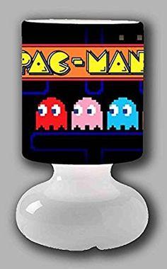 Pac Man Tischlampe | #Deko für ein Zocker Zimmer