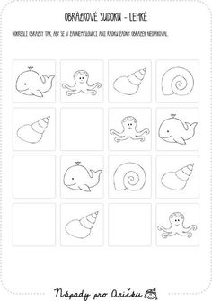 Pracovní listy | Nápady pro Aničku.cz Grade 1, Art Lessons, Projects To Try, Coding, Templates, Prints, Hana, Maths, Worksheets