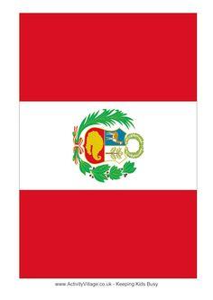 the peru flag